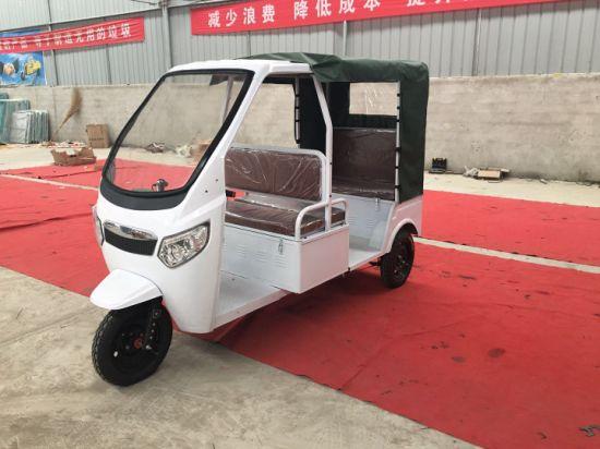 China 2020 Newest Luxury Electric Auto Rickshaw Battery Operated