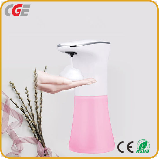 350ml Liquid Soap Dispenser Automatic Induction Foam Hand Washing Machine for Bathroom Kitchen