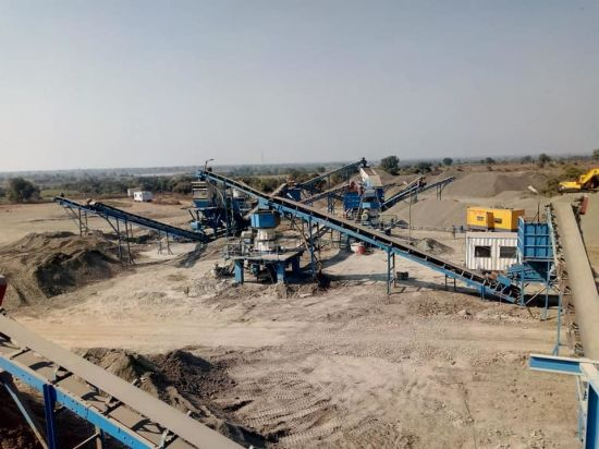 Quarry Belt Conveyor System Customized Material Handling Equipment