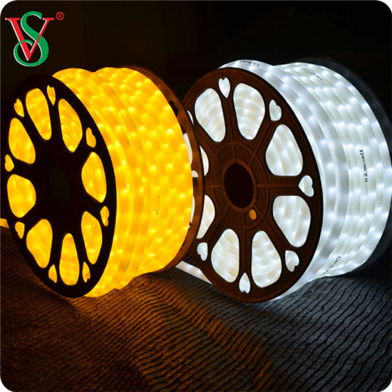 China Rgb Round Dimmable Led Rope Lights For Christmas Ornament China Rgb Rope Light Rope Light