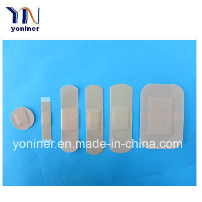 PE Waterproof Adhesive Bandages Band Aids Wound Plaster