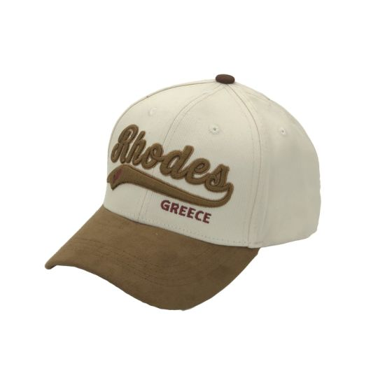 Hot Sale Wholesale Custom Trendy Curved Brim Suede Baseball Cap for Men