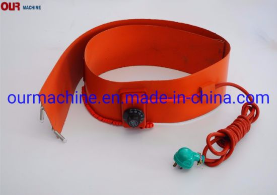 2000W Industrial Electric Silicone Drum Band Heater with Adjustable Controller
