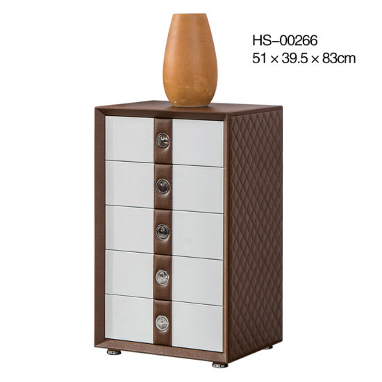 Bedroom Furniture Leather Home Furniture Living Room Furniture Bedside Table Bedside Cabinet Nightstand Bedside Night Stand Drawer Storage Cabinet