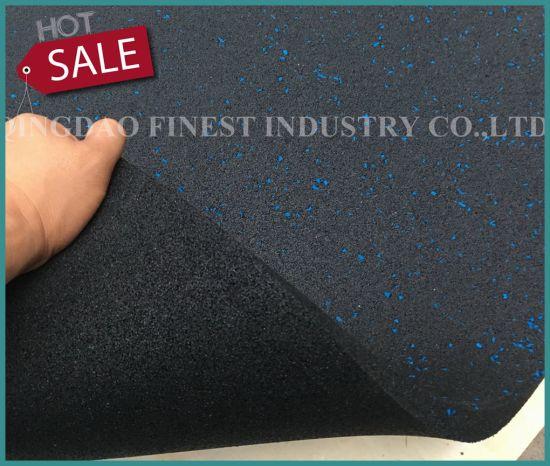 Factory Wholesale Premium Rubber Flooring Tiles Mats for Gym Fitness Center Fitness Gym Equipment