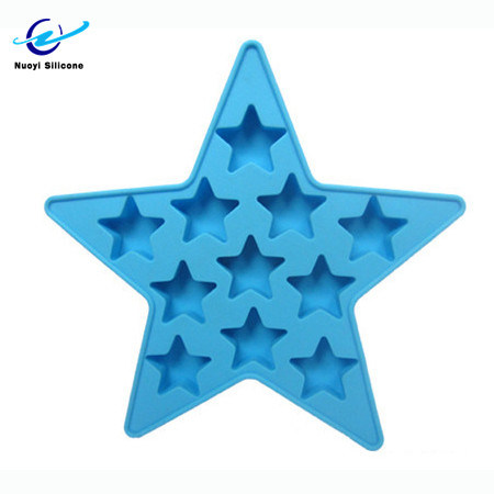 Star Shape Silicone Ice Cube Mold