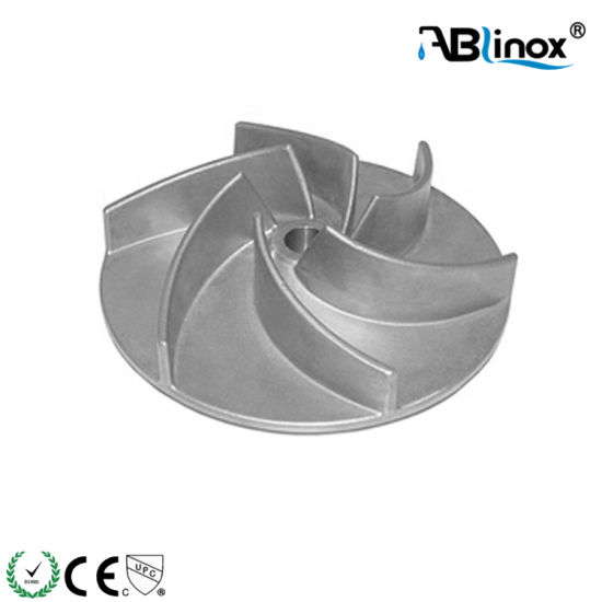 Factory Price Mechanical Impeller Investment Casting Part Drawings OEM
