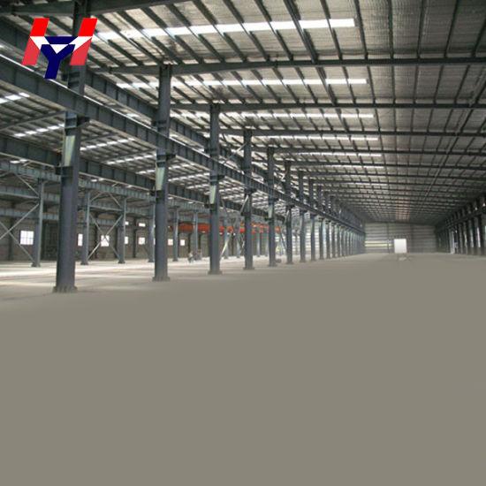 Pre-Engineered Easy Installation H-Beams Galvanized Steel Structure