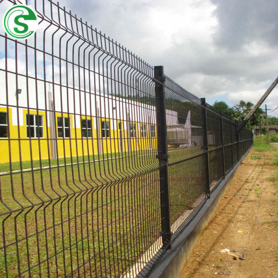 Excellent Residental House Used 3D Nylofor Curve Fence Panel
