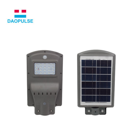 Solar Battery Ed Integrated Led