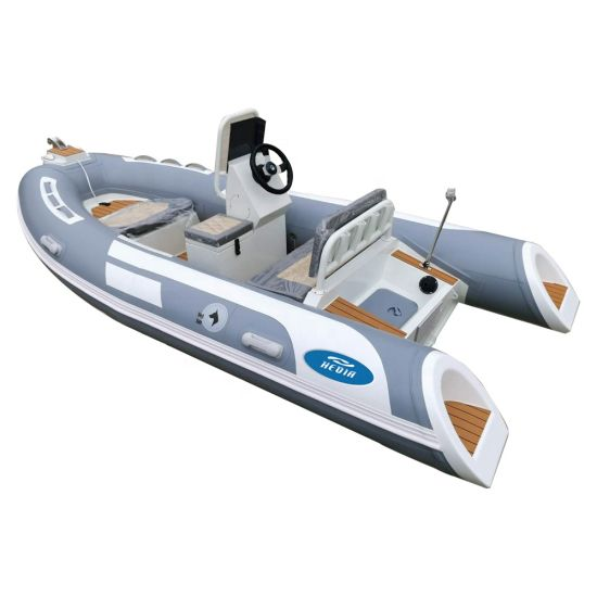 Rib Boat with Germany Motor 380 Rigid Inflatable Rib Boat with Germany Motor with PVC or Hypalon Air Tube