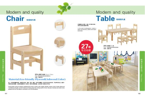 Children Chair, Kindergarten Chair, Table Chair, Furniture Chair, School Classroom Table and Chair Set, Kids Wooden Chair