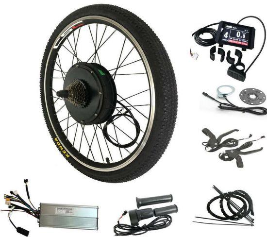 Electric Bike Conversion Kit Front Wheel 36V 500W Regeneration Non-gear eBike