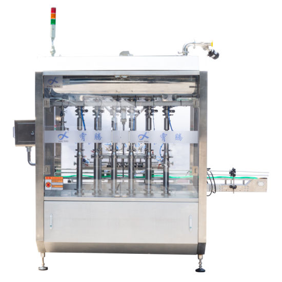 Made in China Automatic 6 Nozzles Liquid Bottling Filling Machine