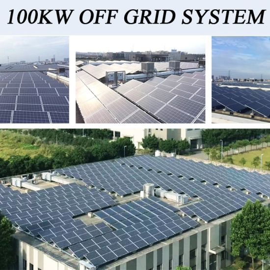 Be Easy to Assemble 100kw off Grid Solar Power System, Solar Thermal System  for Hot Water Heating, V Guard Solar System Price