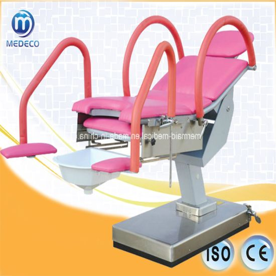 New Type of Ecoh041 Multi-Purpose Mechanical Obstetric Table pictures & photos