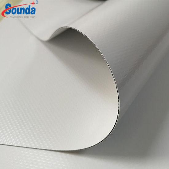 Coated PVC Tarpaulin Blockout 1000*1000d, 20*20, 750g