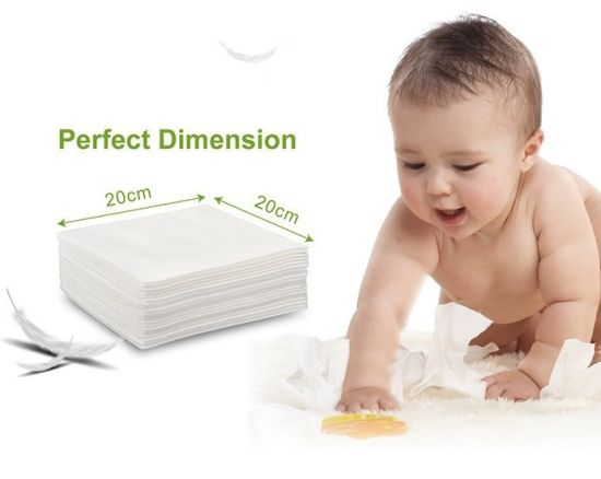 Cyy Disposable Cleaning Facial Baby Dry Wipes