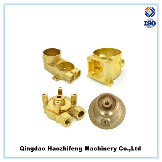China Precision Lost Wax Investment Casting Robot Brass