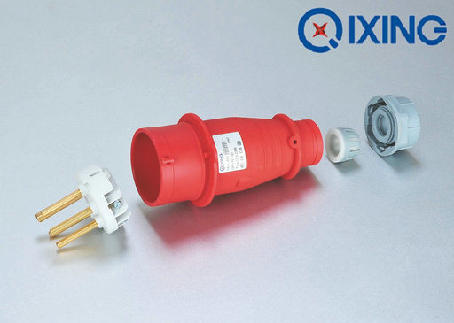 16A Three Phase Gland Plug with CE Certification pictures & photos