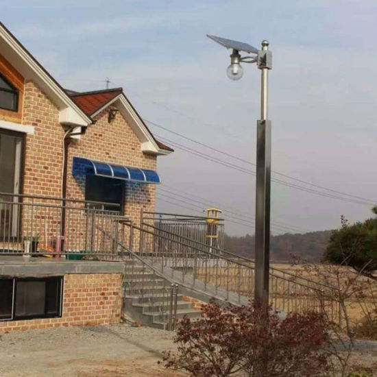 Smart Outdoor LED 6W-100W Integrated Solar Garden Street Light with Remote Control