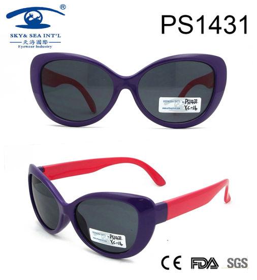 d1f590d79790 Cat Shape Party Cool Kid Plastic Sunglasses (PS1431) pictures & photos