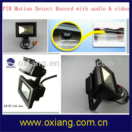 10W PIR Motion Sensor LED Flood Light WiFi Security Camera