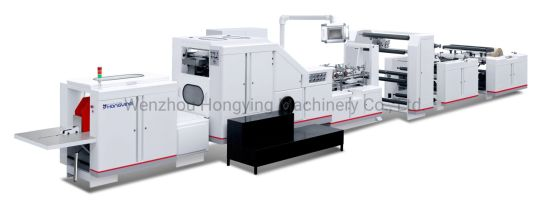 High Speed Automatic Plastic Paper Packing Shopping Carton Box Cup Bag Plate/Straw Lid Foming Making Machine
