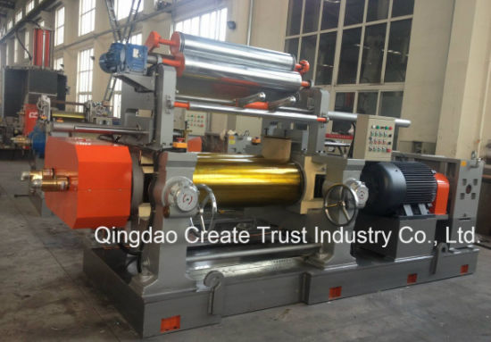 2017 High Technical Open Rubber Mixing Mill with Stock Blender (CE/ISO9001) pictures & photos