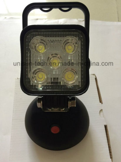 15W Magnetic Rechargeable Switch on/off LED Work Lamp pictures & photos