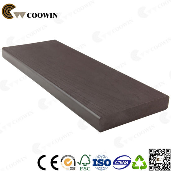 Mold Resistant Wood Plastic Composite WPC Co-Extrusion Decking (TH-16) pictures & photos