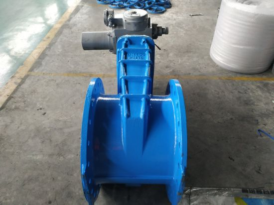 Good China Supplier 36 Inch Wedge Gate Valve with Gear Box or with Electric Actuator