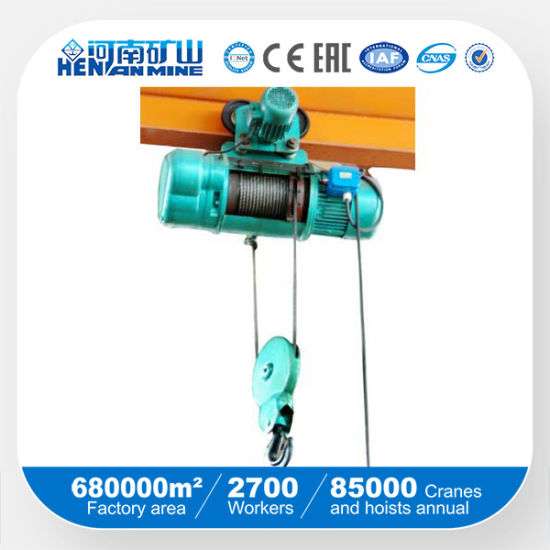 Wirerope Electric Hoist (CD, MD model) pictures & photos