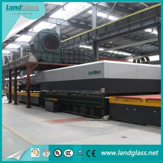 Landglass Jet Convection Horizontal Flat Tempered Glass Making Furnace/Machine pictures & photos