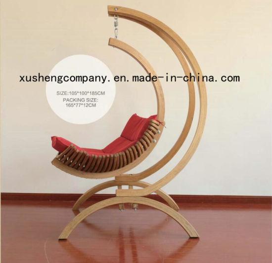 China Wooden Hanging Hammock Swing Chair China Garden Swing Chair Hang Chair