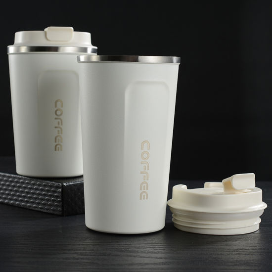 Wholesale Double Wall Custom Insulated Travel Stainless Steel Coffee Mug with Lid