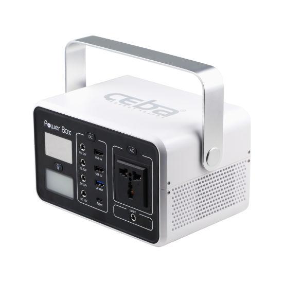 New Arrival! Family Emergency Backup Power Supply 200W Portable Power Station Solar System Mini UPS