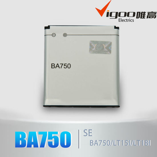 High Capacity Battery Ba900 for Sony Ericsson pictures & photos