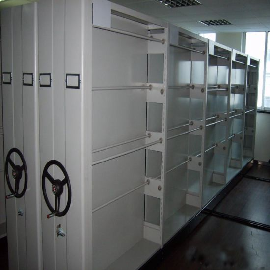 High Density Steel Mobile File Storage