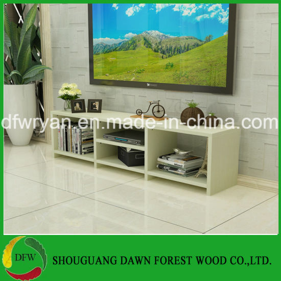 New Model Top Quality Living Room Wooden Furniture LCD TV Stand Design