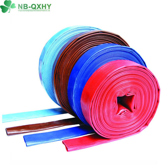 Optional Size Custom Colorful Agriculture Irrigation PVC Layflat Hose