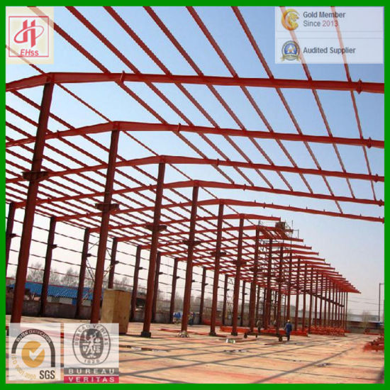 Low Cost Light Steel Building for Workshop (EHSS523)