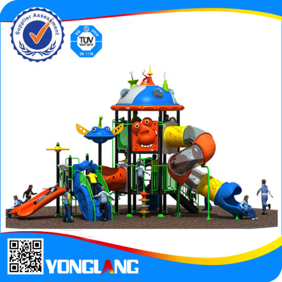 Kids Hot Sale Outdoor Playground Equipment Playset Plans pictures & photos