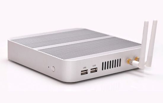 Intel Core I3 4010u Dual Core Fanless Mini PC (JFTC4010U) pictures & photos