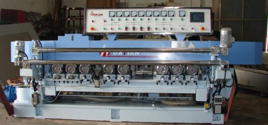 PLC Automatic Glass Straight Line Bevel Cutting Machine