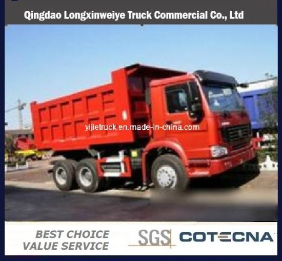HOWO 6x4 40t Dump Truck (ZZ3257N3647)