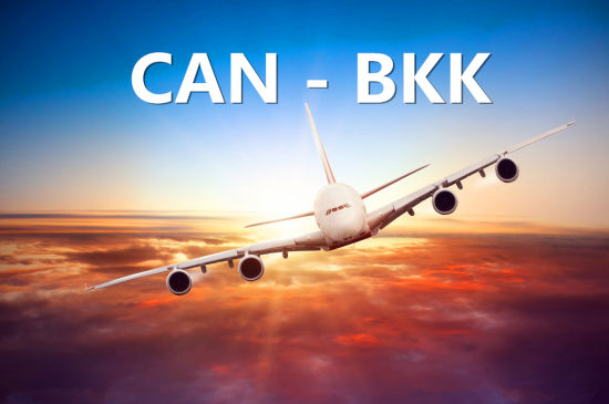 Air Cargo Freight From Guangzhou to Bangkok