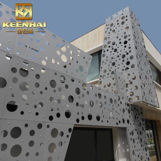 China Exterior Wall Panel Decorative Perforated Metal Panel - China ...