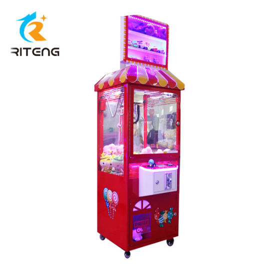 Prize Gift Vending Game Toy Crane Claw Machine pictures & photos