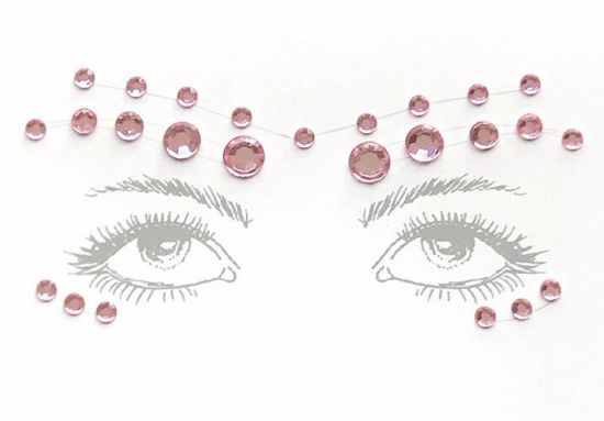 Hot Sell Face Jewels Sticker pictures & photos
